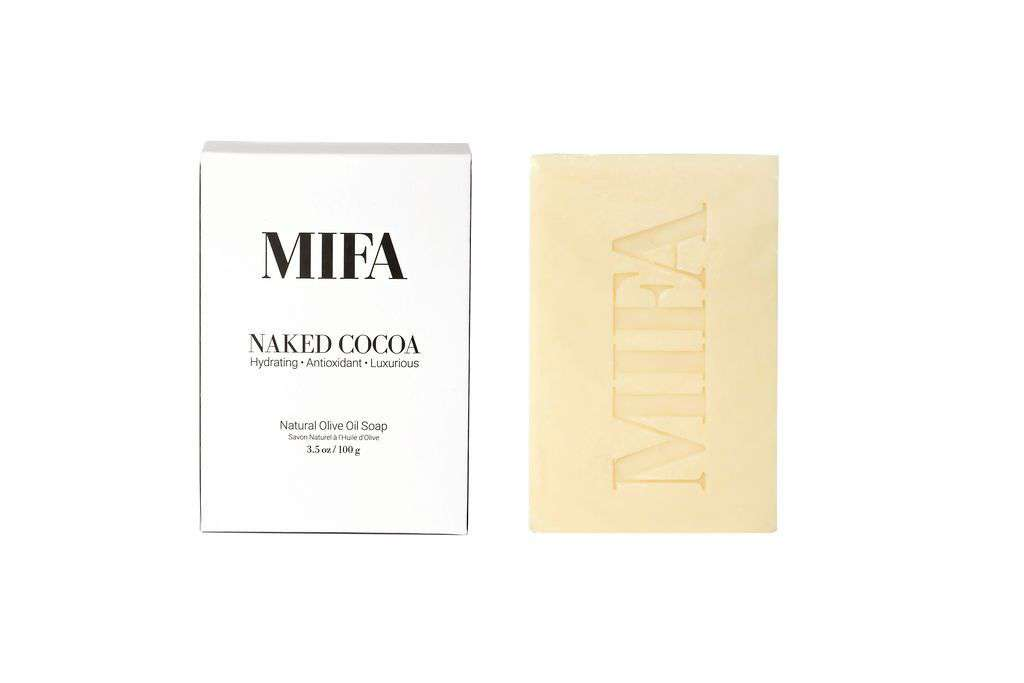 Jiyubox: Naked Cocoa Olive Oil Soap Bar by MIFA and Co