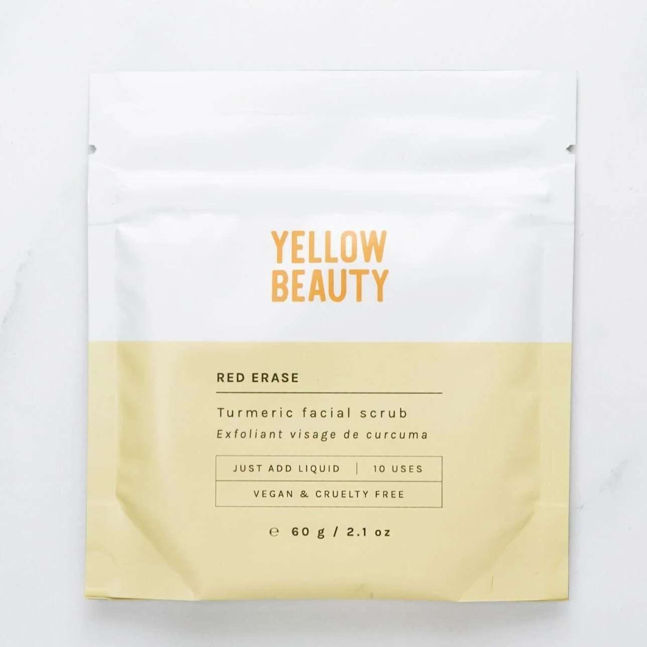 Jiyubox: Red Erase Soothing Exfoliator by Yellow Beauty