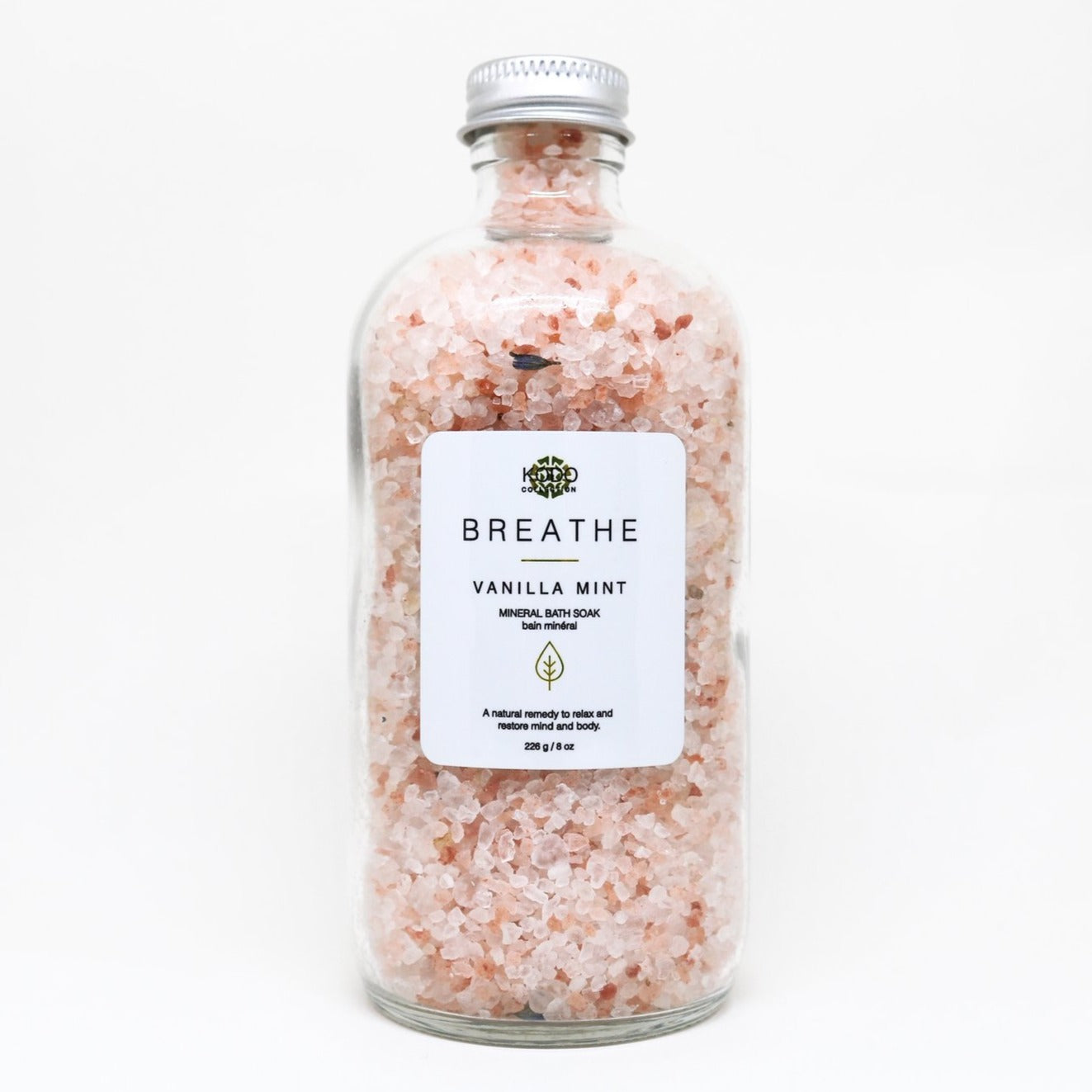 Breathe Vanilla Mint Mineral Bath Soak