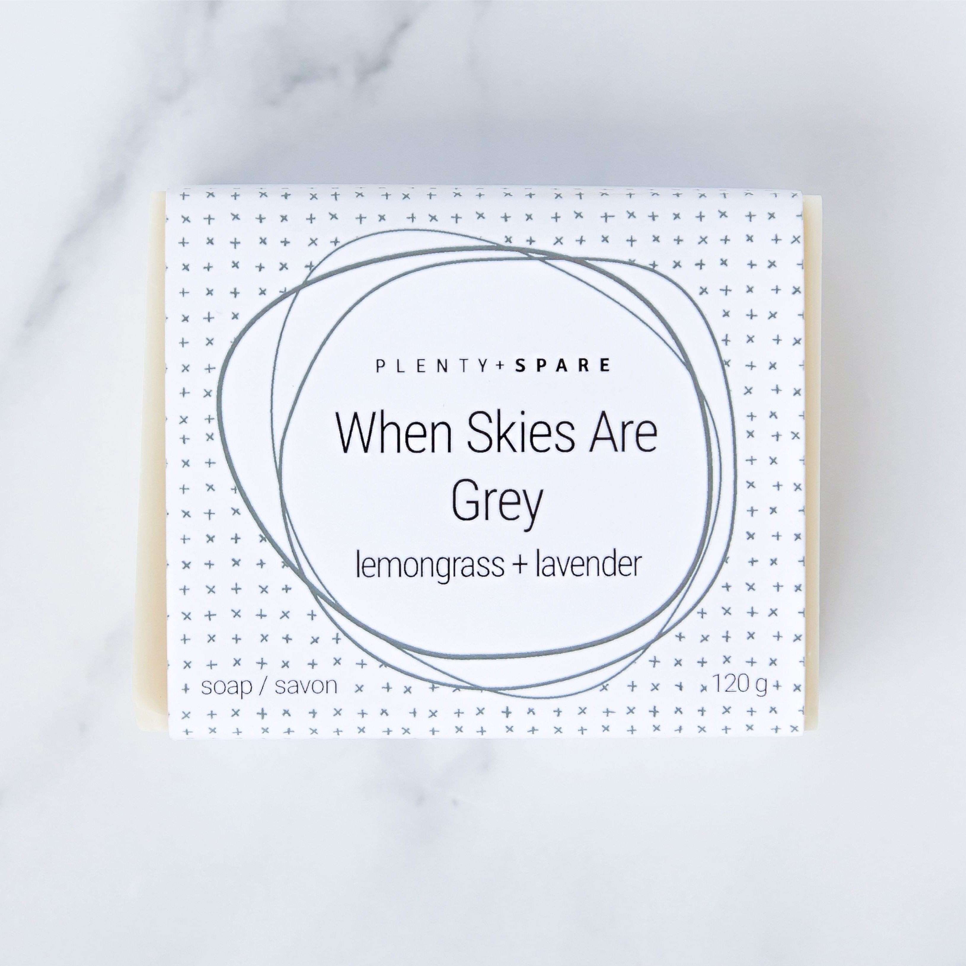 Jiyubox: When Skies are Grey Bar Soap by Plenty + Spare