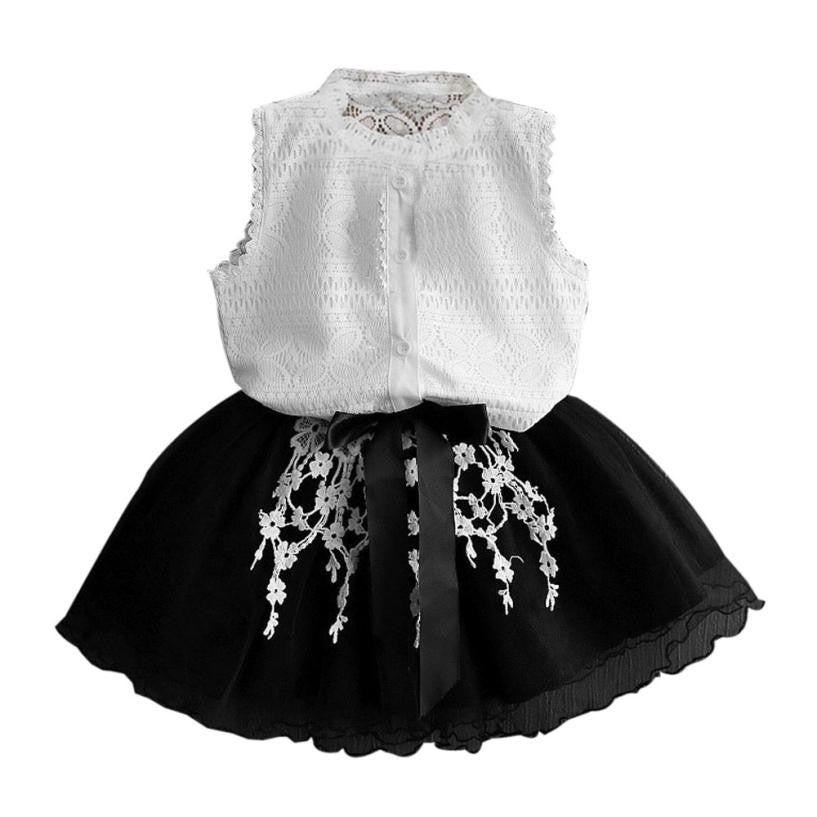 Crochet Lace Tutu Mini