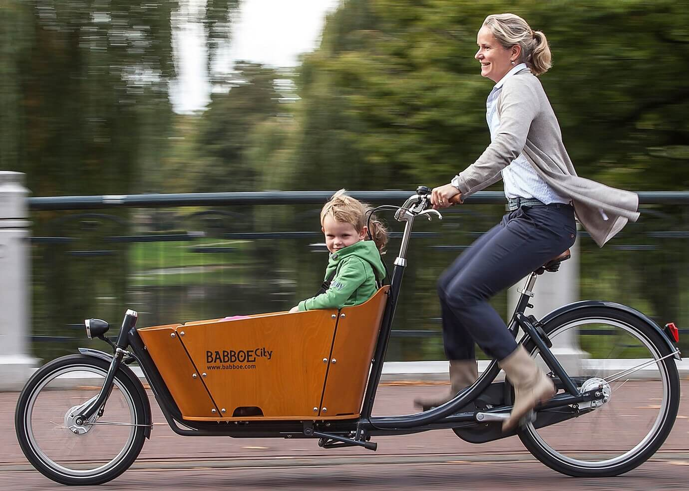 Babboe  E-City Bike