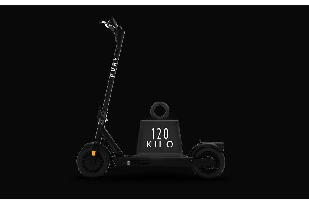 Pure Air Pro Electric Scooter Weight Limit