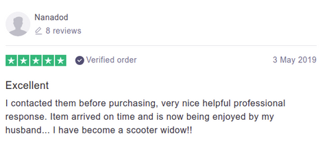 Pure Scooters Customer Reviews