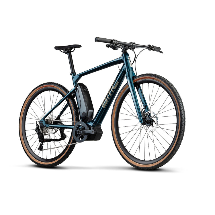 BMC AMP AL Cross One Electric Hybrid Bike - 2021 blue