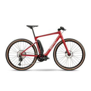 BMC AMP Cross One Electric Hybrid Bike - 2021 Red