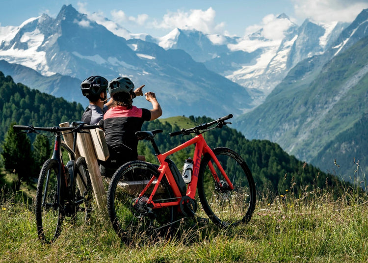BMC Alpenchallenge AMP Cross Two Hybrid Electric Bike - 2020