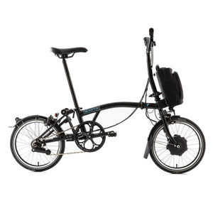 Brompton M6L 6 Speed Electric Folding Bike - 2020 Bolt Blue Lacquer