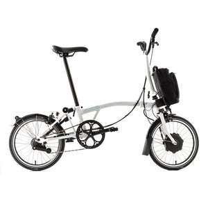 Brompton M6L 6 Speed Electric Folding Bike - 2020 White