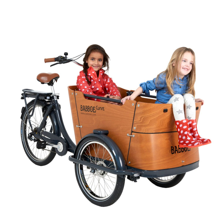 Babboe Curve-E Electric Cargo Bike - 2020