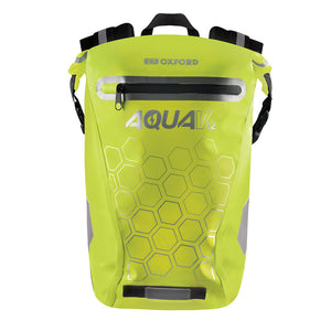 Oxford V12 Aqua Backpack Yellow
