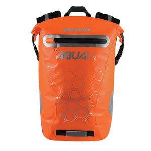Oxford V12 Aqua Backpack Orange