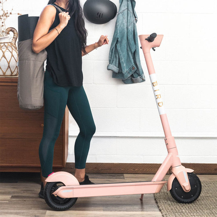 Bird One Electric Scooter Electric Rose