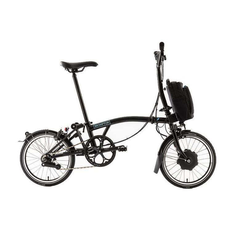Brompton M2L 2 Speed Electric Folding Bike with Essential Bag - 2020