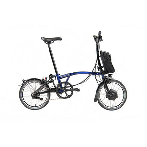 Brompton H6L Electric Folding Bike with Essential Bag - 2021