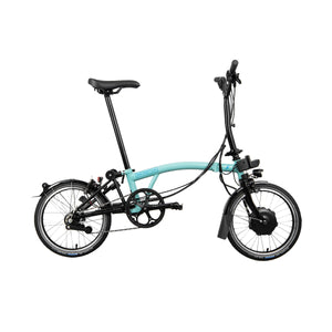 Brompton M6L 6 Speed Electric Folding Bike with Essential Bag - 2021