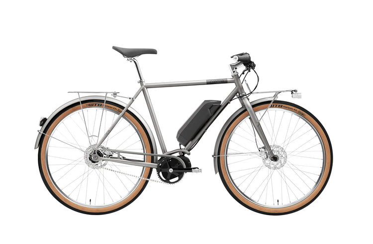 Crème Ristretto ON+ Solo Electric Hybrid Bike - 2020