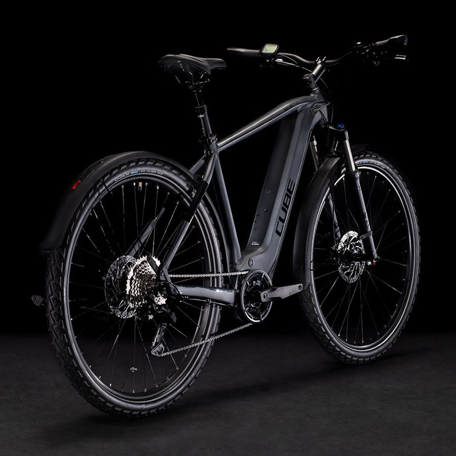 Cube Nature Hybrid EXC 625 Allroad Electric Hybrid Bike - 2021