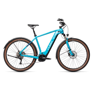 Cube Nature Hybrid EXC 625 Allroad Electric Hybrid Bike - 2021 Petrol