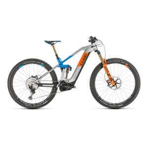 Cube Stereo Hybrid 140 HPC Action Team 625 Electric Mountain Bike - 2020