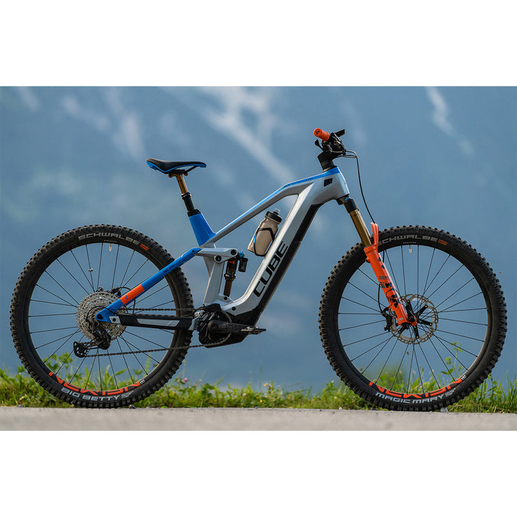 Cube Stereo Hybrid 140 HPC Action Team 625 Kiox Electric Mountain Bike - 2021
