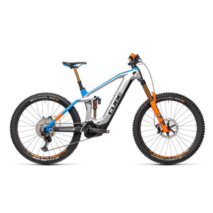 Cube Stereo Hybrid 160 HPC Action Team 27.5 625 Kiox Electric Mountain Bike - 2021
