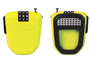 Hiplok FX Wearable Retractable Combination Lock -  Lime