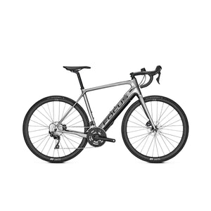 Focus Paralane2 6.9 Electric Road Bike - 2021 Silver