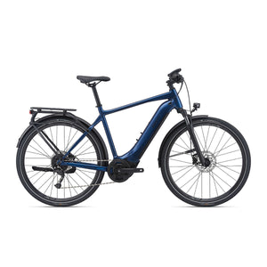Giant Explore E+ 2 Electric Hybrid Bike - 2021 navy