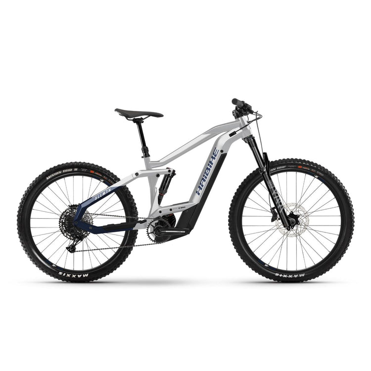 Haibike AllMtn 3 Electric Mountain Bike - 2021 White