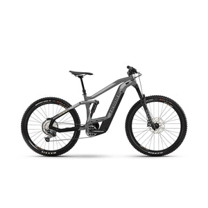 Haibike AllMtn 4 Electric Mountain Bike - 2021 Grey