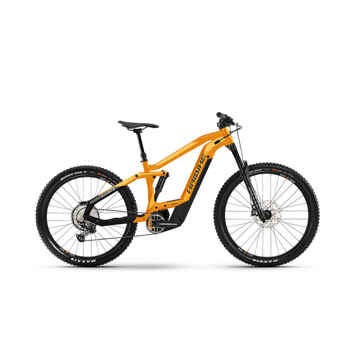 Haibike AllMtn 4 Electric Mountain Bike - 2021 Orange