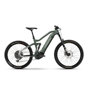 Haibike AllMtn 6 Electric Mountain Bike - 2021 Bamboo