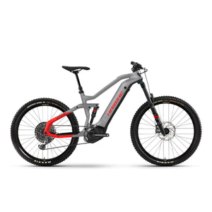 Haibike AllMtn 6 Electric Mountain Bike - 2021 Grey