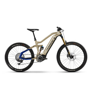 Haibike AllMtn 7 Electric Mountain Bike - 2021 Coffee