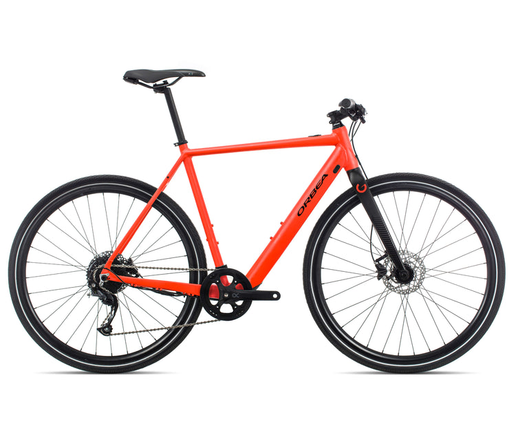 Orbea Gain F40 E-Bike - Red/Black