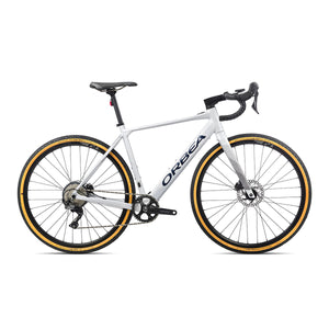 Orbea Gain D30 1X Electric Road Bike - 2021 White