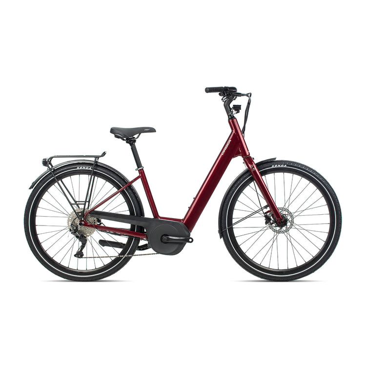 Orbea Optima E40 Electric Hybrid Bike - 2021 Red