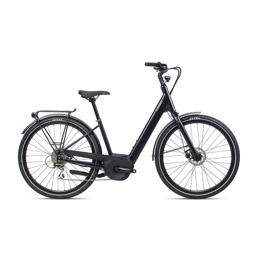 Orbea Optima E50 Electric Hybrid Bike - 2021 Black