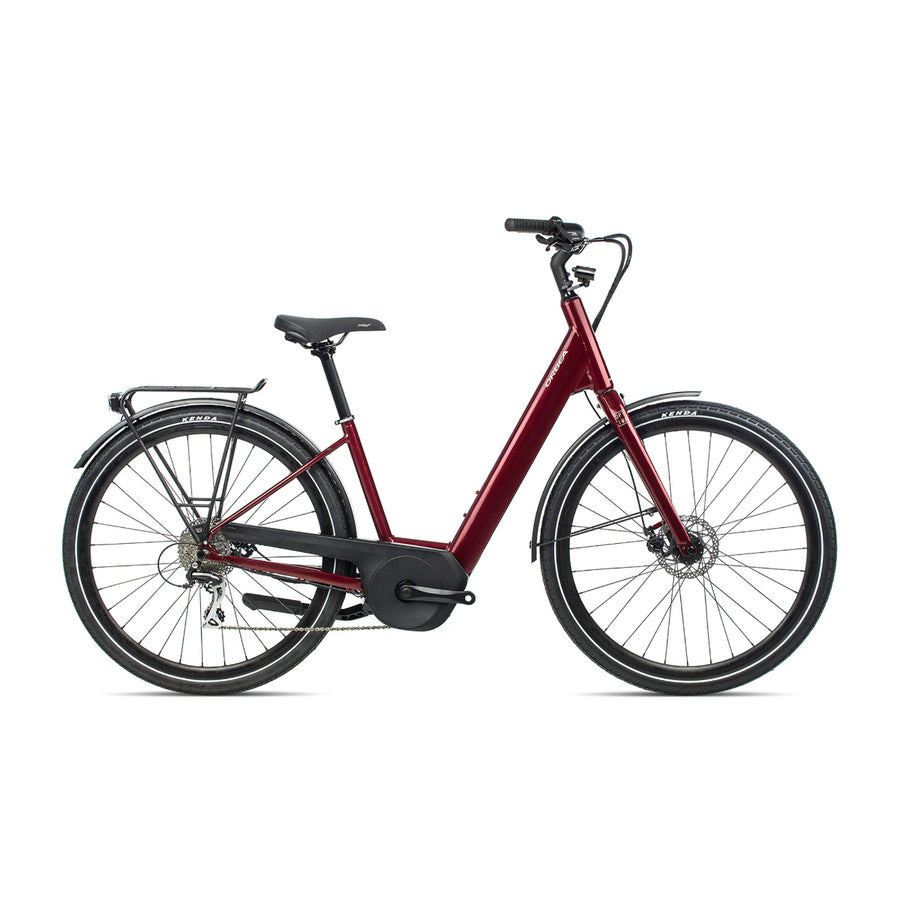 Orbea Optima E50 Electric Hybrid Bike - 2021 Red