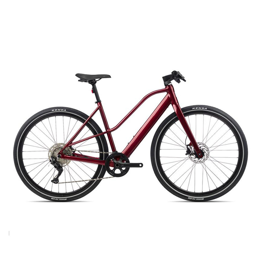 Orbea Vibe Mid H30 Electric Hybrid Bike - 2021 Red