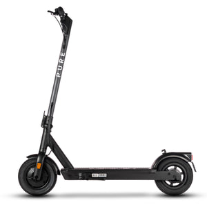 pure air pro electric scooter with carbon stem wrap