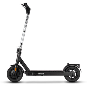 pure air pro electric scooter with silver stem wrap
