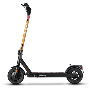 pure air pro electric scooter with ice cream camo stem wrap