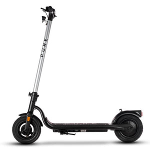 Pure Air Electric Scooter Graphics Kit - Silver