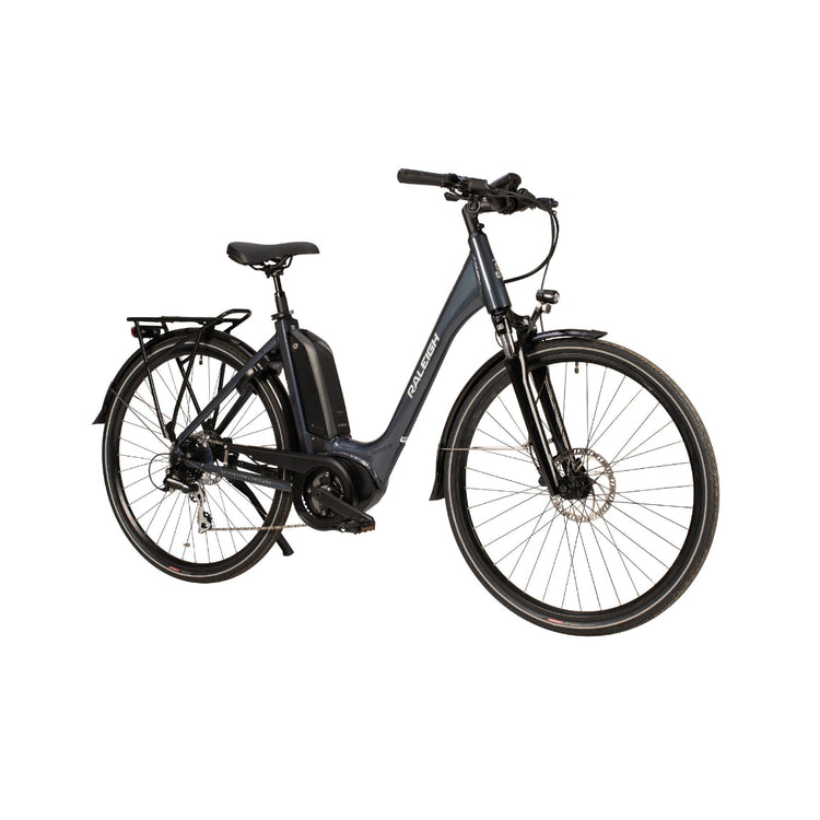 Raleigh Motus Tour Lowstep Derailleur Electric Hybrid Bike - 2021 Grey