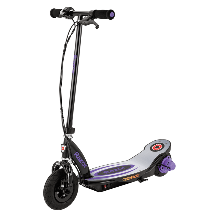 Purple Razor E100 Kids Electric Scooter