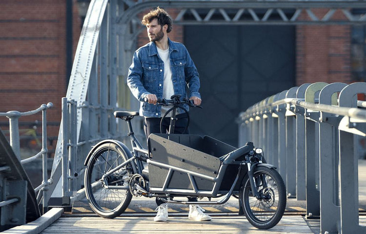 Riese & Müller Load 75 Vario Electric Cargo Bike with Child Cover - 2020