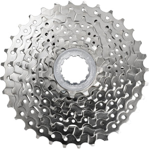 Shimano CS-HG50 8-Speed Cassette 11 - 28T is a high quality 8-speed cassette.