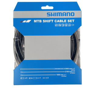 Shimano MTB Gear Cable Set with Stainless Steel Inner Wire